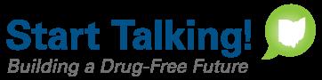 start talking logo - Drug free future